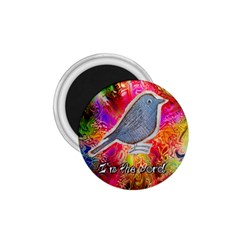 Birds the word 1.75  Button Magnet