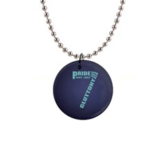 Seven 1  Button Necklace
