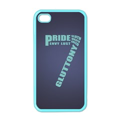 Seven Apple iPhone 4 Case (Color)