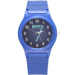 Seven Round Plastic Sport Watch Small
