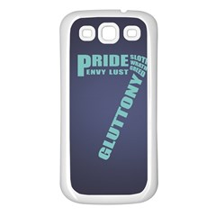 Seven Samsung Galaxy S3 Back Case (White)