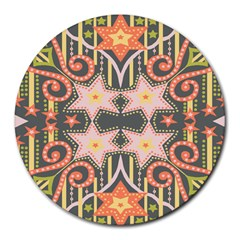 Cosmic rays 8  Mouse Pad (Round)