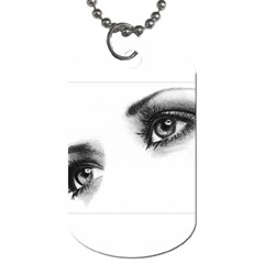 Eyes  Dog Tag (two Sided)