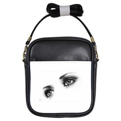 Eyes  Girl s Sling Bag