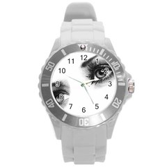 Eyes  Plastic Sport Watch (Large)
