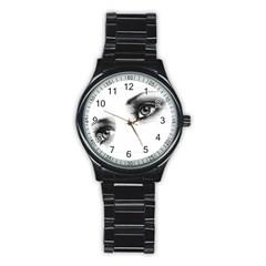 Eyes  Sport Metal Watch (Black)