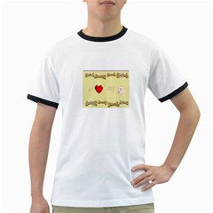 I Love My Dog! Ii Mens' Ringer T Shirt
