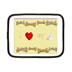 I Love My Dog! II Netbook Case (Small)