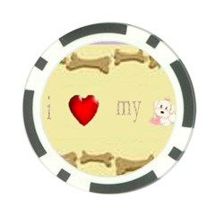 I Love My Dog! Ii Poker Chip 10 Pack