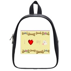 I Love My Dog! II School Bag (Small)