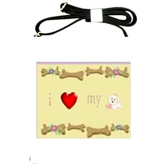 I Love My Dog! Ii Shoulder Sling Bag