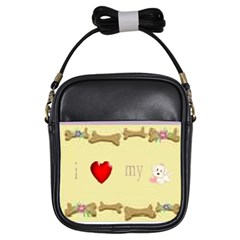 I Love My Dog! II Girl s Sling Bag