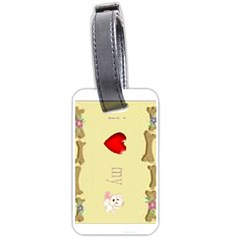 I Love My Dog! Ii Luggage Tag (two Sides)