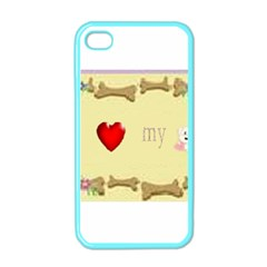 I Love My Dog! II Apple iPhone 4 Case (Color)