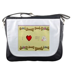 I Love My Dog! Ii Messenger Bag