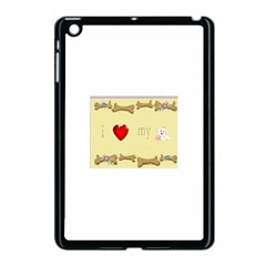 I Love My Dog! II Apple iPad Mini Case (Black)