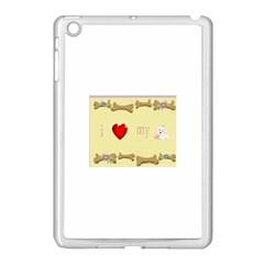 I Love My Dog! Ii Apple Ipad Mini Case (white)