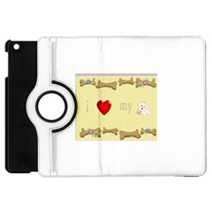 I Love My Dog! II Apple iPad Mini Flip 360 Case