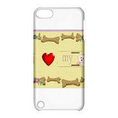 I Love My Dog! II Apple iPod Touch 5 Hardshell Case with Stand