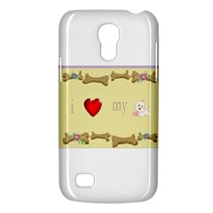 I Love My Dog! II Samsung Galaxy S4 Mini Hardshell Case