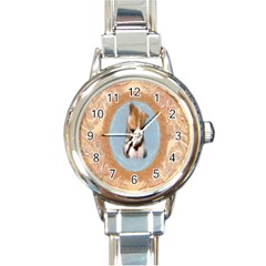 Arn t I Adorable? Round Italian Charm Watch