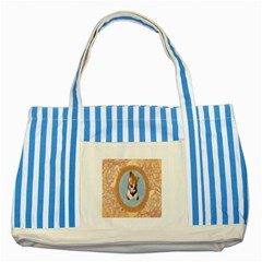 Arn t I Adorable? Blue Striped Tote Bag