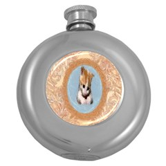 Arn t I Adorable? Hip Flask (round)