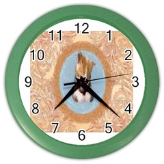 Arn t I Adorable? Wall Clock (color)