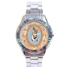Arn t I Adorable? Stainless Steel Watch (Men s)