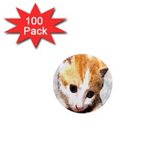 Sweet Face :) 1  Mini Button Magnet (100 pack)