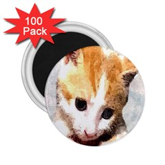 Sweet Face :) 2.25  Button Magnet (100 pack)