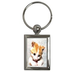 Sweet Face :) Key Chain (Rectangle)