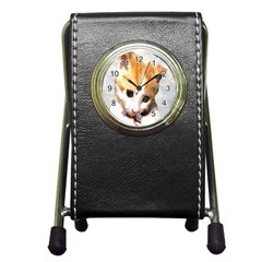 Sweet Face :) Stationery Holder Clock