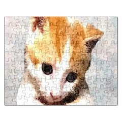 Sweet Face :) Jigsaw Puzzle (Rectangle)