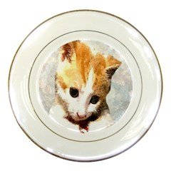 Sweet Face :) Porcelain Display Plate