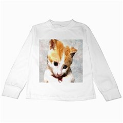 Sweet Face :) Kids Long Sleeve T-Shirt
