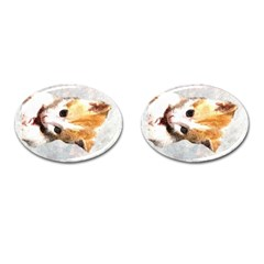 Sweet Face :) Cufflinks (oval)