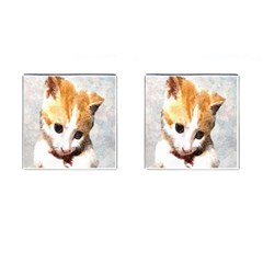 Sweet Face :) Cufflinks (Square)