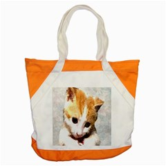 Sweet Face :) Accent Tote Bag