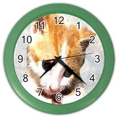 Sweet Face :) Wall Clock (Color)