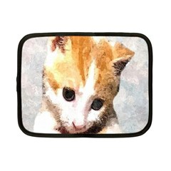 Sweet Face :) Netbook Case (Small)