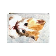 Sweet Face :) Cosmetic Bag (large)