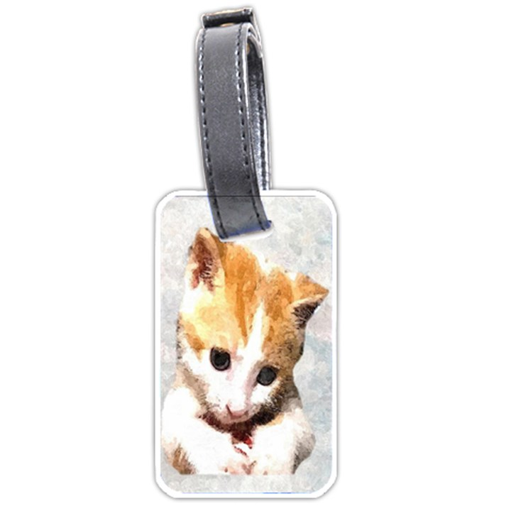 Sweet Face :) Luggage Tag (One Side)