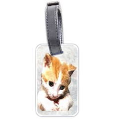 Sweet Face :) Luggage Tag (two Sides)