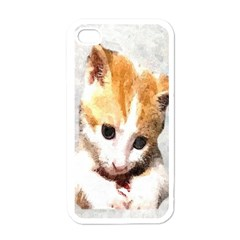 Sweet Face :) Apple Iphone 4 Case (white)