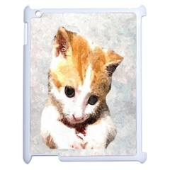 Sweet Face :) Apple iPad 2 Case (White)