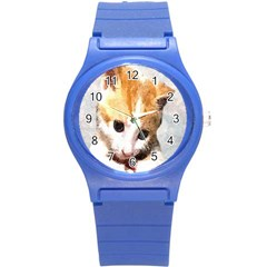 Sweet Face :) Plastic Sport Watch (Small)