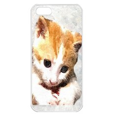 Sweet Face :) Apple Iphone 5 Seamless Case (white)