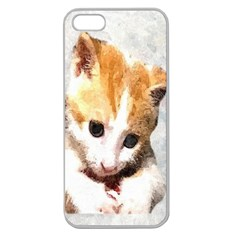 Sweet Face :) Apple Seamless iPhone 5 Case (Clear)