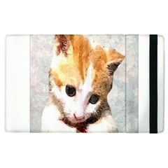 Sweet Face :) Apple iPad 3/4 Flip Case